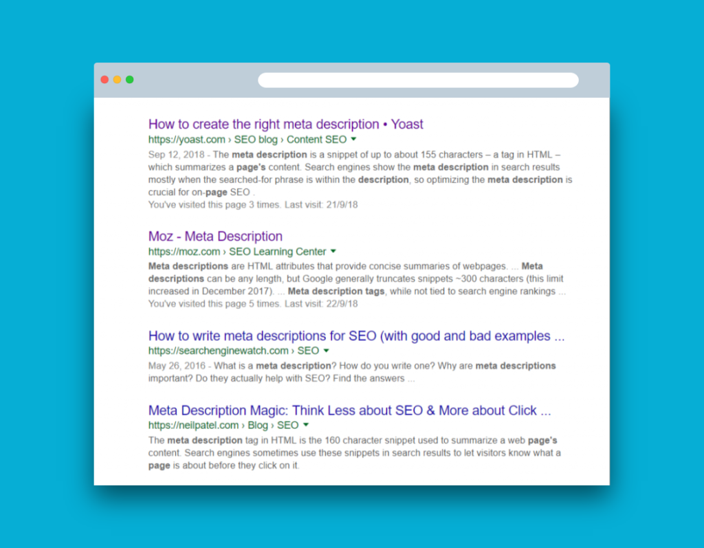 Does Meta Description Tag Helps in Search Engine Optimization