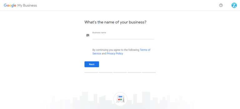 Write your business name