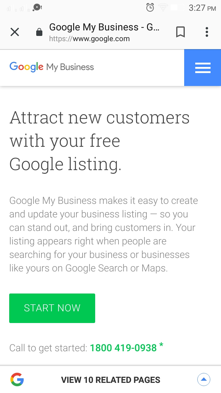 register google my business