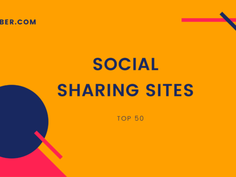 social sharing sites list
