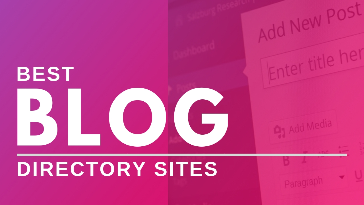 blog directory sites