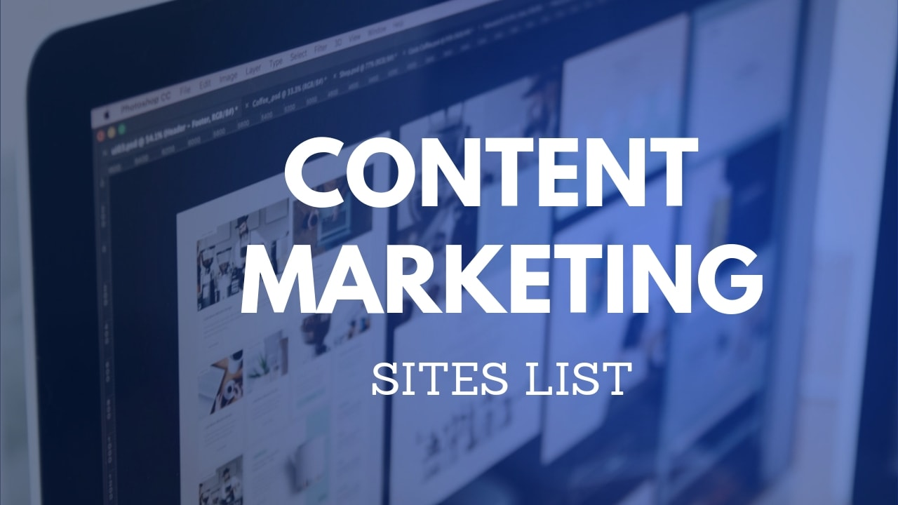 content marketing sites
