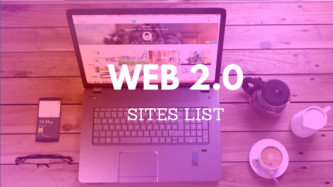 latest web 2.0 sites list