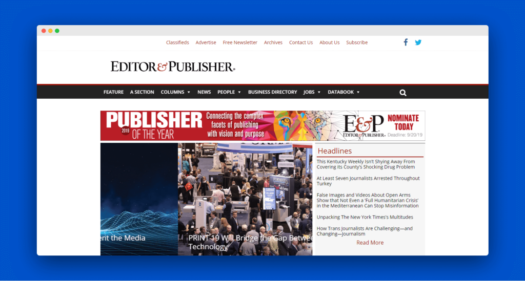Editorandpublisher