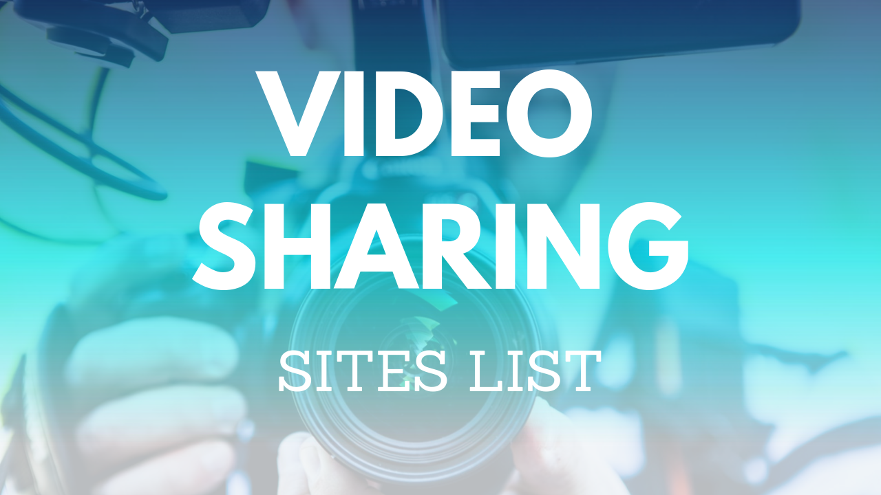 video sharing sites list