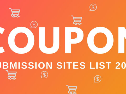Free Coupon Code Submission Sites List 2019