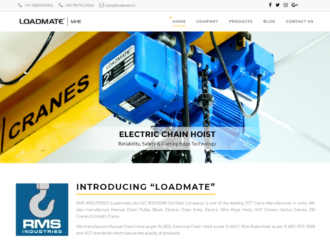 Loadmate-website