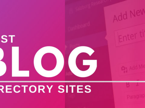 free blog directory submission sites list