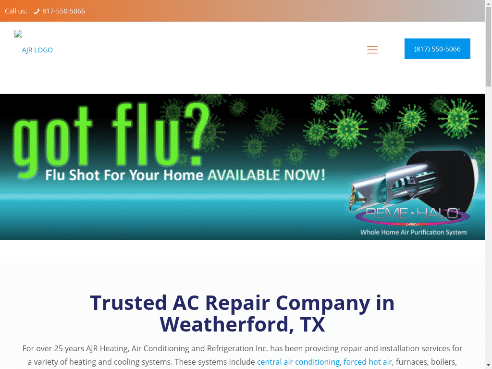 AJR Heating and actx