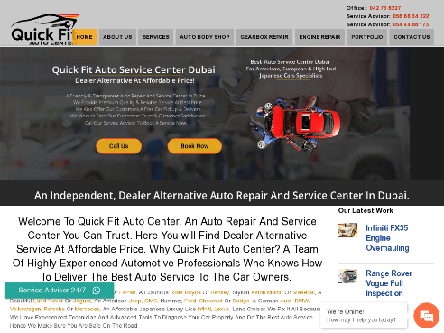 Auto Service Center Dubai _ Dealer Alternative_ Auto Workshop.042736227