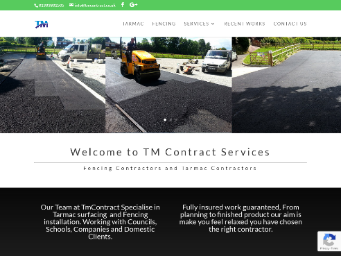 Fencing Contractors and Tarmac Contractors based in Kent