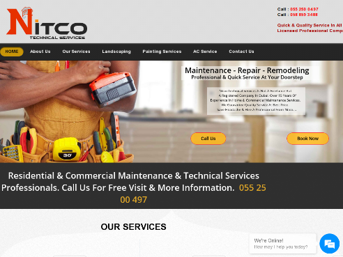 Home - Nitco Technical Services